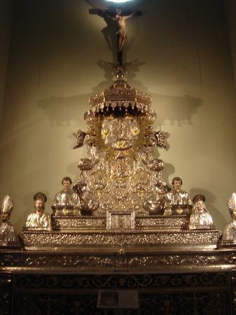 Catedral de Huesca: una de las muchas piezas del museo catedralicio