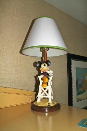 Disneyu0027s Paradise Pier Hotel: Mickey Mouse Lamp...very Cute.