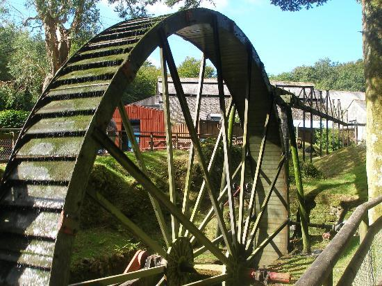 Wheal Martyn: water wheel