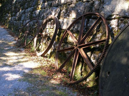 Wheal Martyn: old wheels