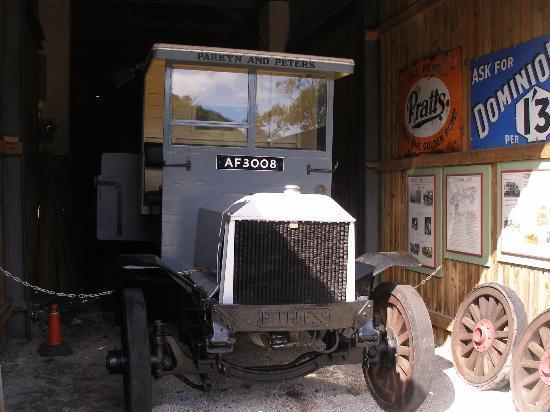 Wheal Martyn: vintage lorry