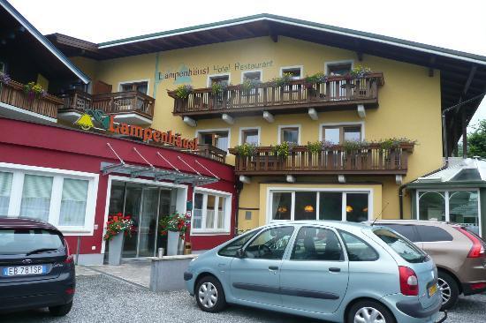 Hotel Lampenhäusl: Gasthof Lampenhausl, Fusch, wejście