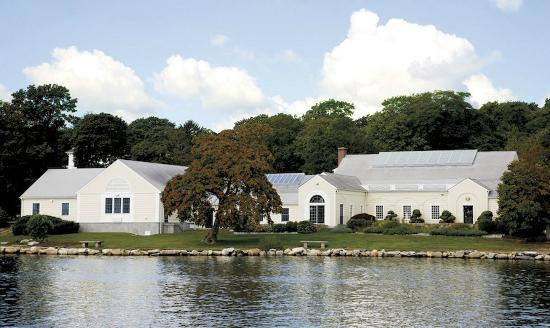 Mystic Museum of Art: Beautiful views along the Mystic River make us a popular event destination.