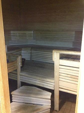 Radisson Blu Hotel, Oulu: Sauna! Lovely!
