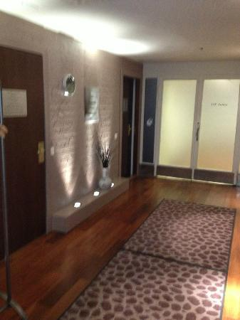 Radisson Blu Hotel, Oulu: Entering the sauna area