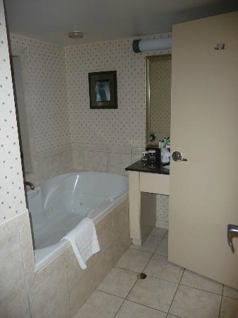 Embassy Suites by Hilton Niagara Falls Fallsview Hotel: bathroom with jacuzy 
