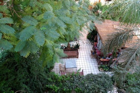 Amon Hotel Luxor: lovely garden to have a drink, meal or just rest