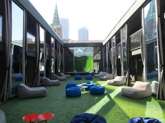 The Out NYC: The expansive sitting green