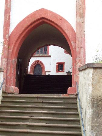Schloss Rochsburg : die ersten Treppen