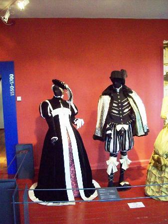 Schloss Rochsburg: historische Kostüme