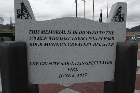 ‪Granite Mountain Memorial Overlook‬