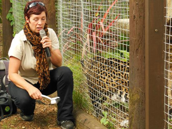 Isle of Wight Zoo : Dedicated and Friendly Staff Sandown Zoo IOW