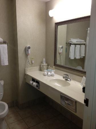 Holiday Inn Express Milwaukee N. Brown Deer/Mequon: big bathroom