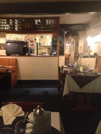 Murrays Seafood Restaurant: cosy and warm on a November eve