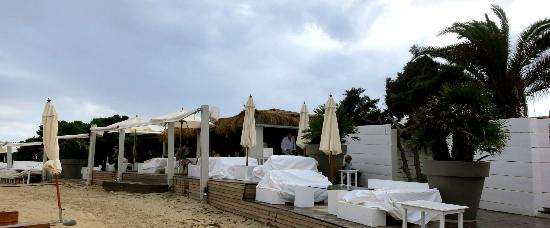 restaurant picture of el chiringuito ibiza town. Black Bedroom Furniture Sets. Home Design Ideas