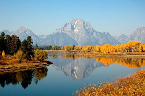 Oxbow Bend: Autumn Reflections