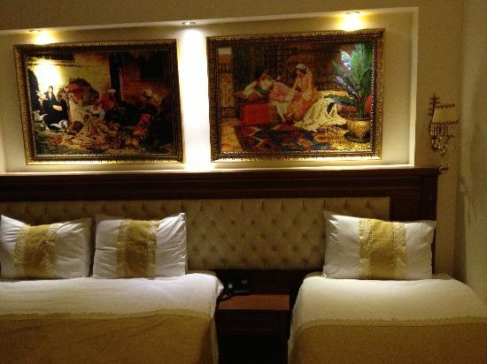 Blue Istanbul Hotel: Kaldığım oda