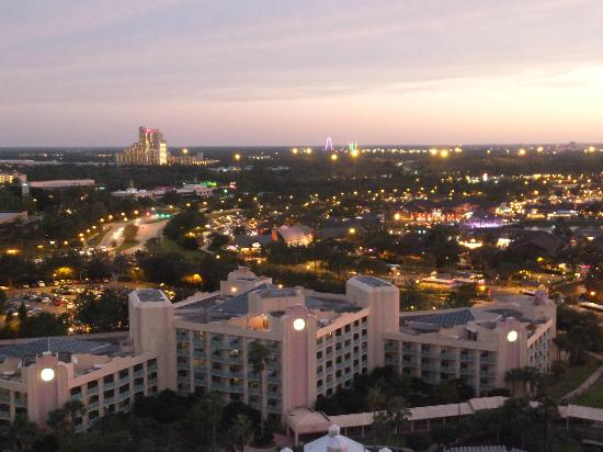 Hilton Orlando Buena Vista Palace Disney Springs: FROM OUR BALCONY