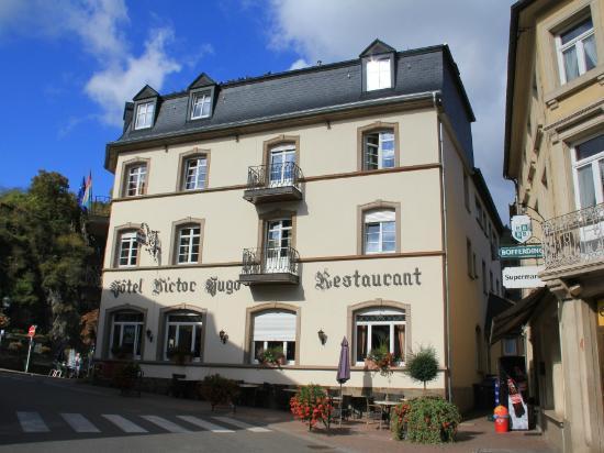 Hotel-Restaurant Victor Hugo : Voorkant Hotel VIctor Hugo.