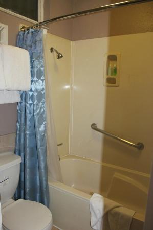 Rodeway Inn Hollywood: Baño
