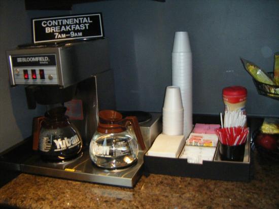 Rodeway Inn Hollywood: Desayuno