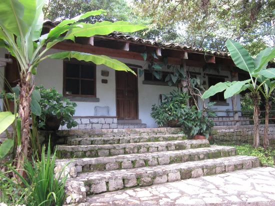 Hotel Hacienda San Lucas: The steps to our room