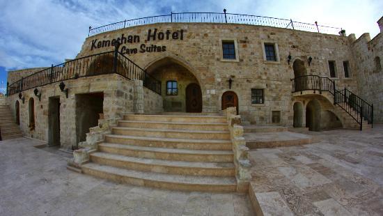 Kemerhan Cave Suites: Hotel Ansicht