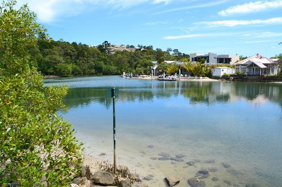 Noosa Main Beach: laguna interna