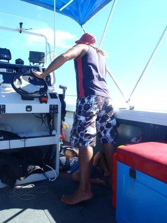 Wet & Wild Aitutaki : Our host