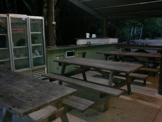 Mt Warning Rainforest Park: The camp kitchen