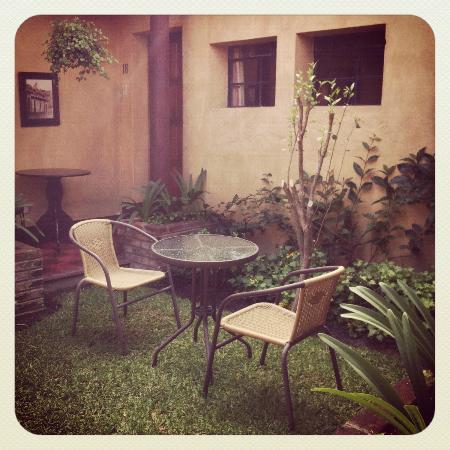 Posada El Antano: Garden