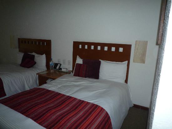 Camino Real Guadalajara: Las camas son amplias.