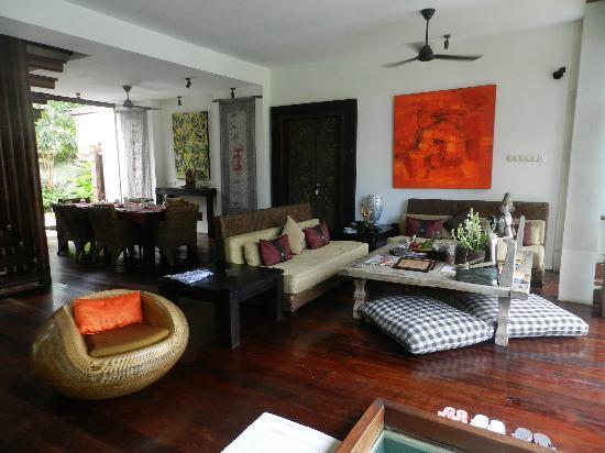 Majapahit Beach Villas: villa nataraja