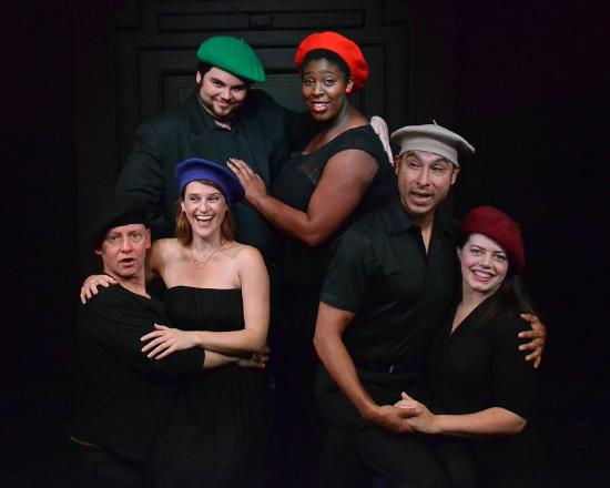 """The Alcove Theater : The Cast of """"Round One Cabaret III: Taking Charge in a Crazy World"""""""