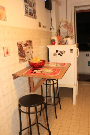 B&B La Roma di Camilla: Kitchen