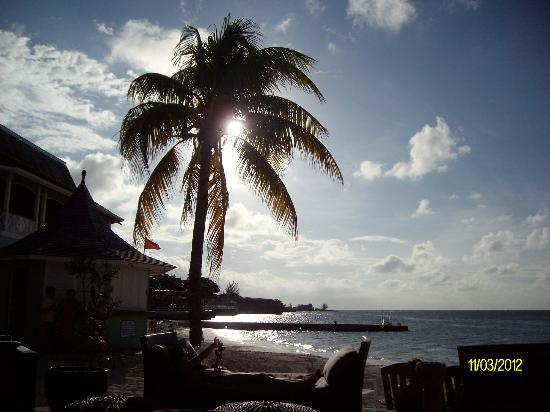 Sandals Montego Bay: waiting for sunset