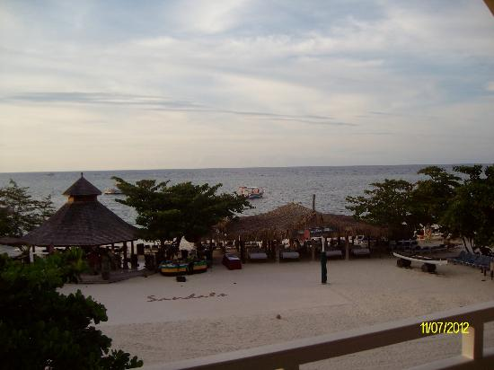 Sandals Montego Bay : view from our room