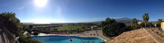 Agriturismo Serra San Biagio: vue panoramique