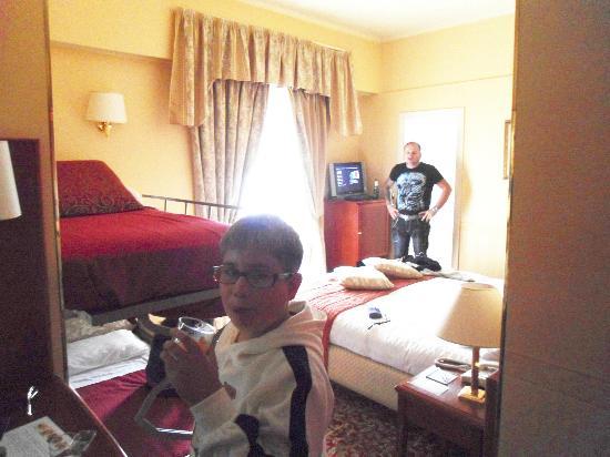 Holiday Inn Rimini Imperiale: la camera...