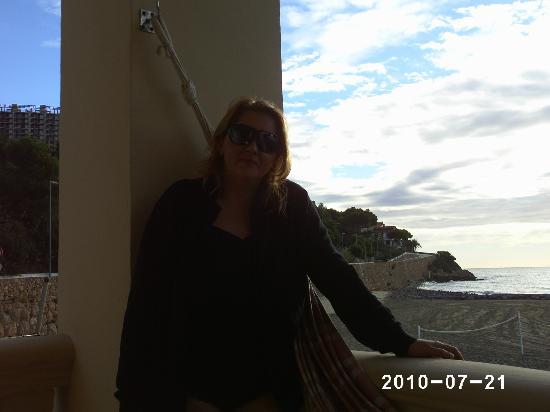 Voramar Hotel: vista desde la terraza