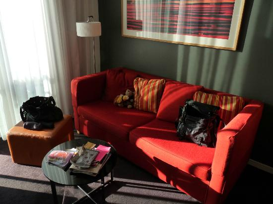 Adina Apartment Hotels Copenhagen: sitting area