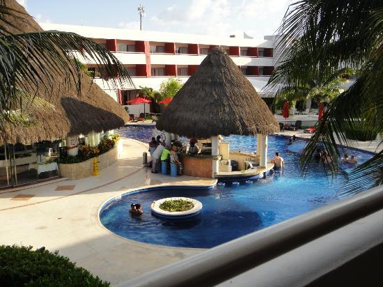 Quiet Pool - Picture Of Temptation Cancun Resort, Cancun -3262