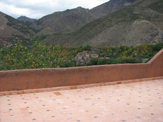 Dar Achain Guesthouse: View from the terrace