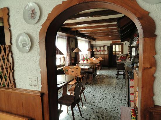 Hôtel du Chasseur : Café (petite restauration)