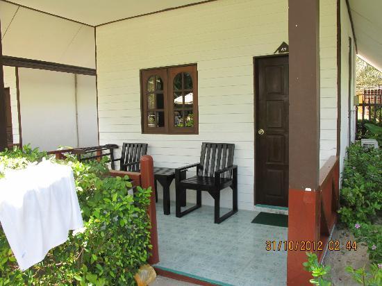 Phi Phi Andaman Legacy: estar fuera de la cabana