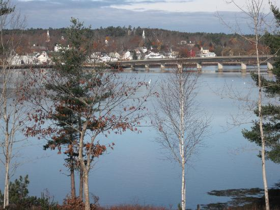 Sheepscot Harbour Village Resort & Spa : View of the Harbor