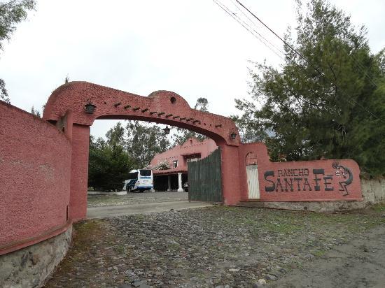 Rancho Sant Fe: l'entrée