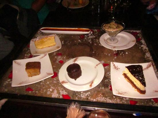 Tribes African Grill & Steakhouse: Dessert? Yes please!