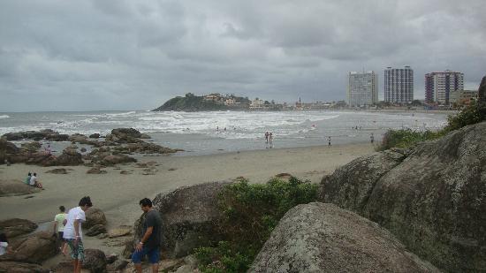 Itanhaem, SP: Vista da pedras.