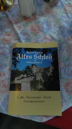 Altes Schloss Hohenbaden: Brochure
